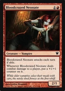 Bloodcrazed neonate Innistrad