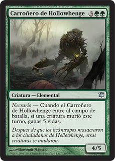 Carroñero de Hollowhenge Innistrad