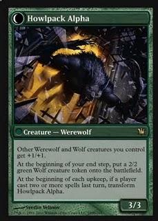 Howlpack alpha Innistrad